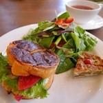 カラコル - サンドイッチ