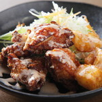 キッチン松 - お客さんの要望で期間限定登場鶏マヨ定食☆