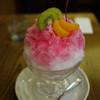 カフェ珈人 - 料理写真:かき氷(イチゴ)~☆