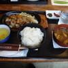 旧庁舎食堂 - 料理写真:郡上の鶏ちゃん定食