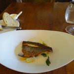 フィデリテ - イサキのポワレ・しらすクリームソース