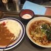 名代 富士そば - 料理写真:朝カレーセット