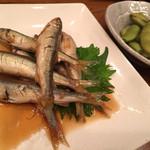 家庭料理穂光 - 稚鮎、枝豆
