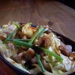 游心 - ホルモン焼:良質の和牛ホルモンとたっぷりの野菜