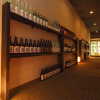 入手困難な日本酒、焼酎、多彩なドリンクメニュー