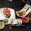 網走観光ホテル - 料理写真:夕食開始時。左に鍋物。右に鉄板焼き。