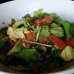 Malkovich - たっぷりアボガドのシンプル緑サラダ(取り分け後)