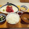 季節料理 味久 - 料理写真:まぐろ中落ち定食(970円)