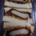 銘柄牛肉の佐藤 - かつサンド¥600-