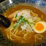 自己流ラーメン綿麺 - 和風とんこつ(750円)