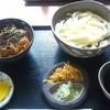 丸富 本店 - 料理写真:冷しうどんとミニあさり丼