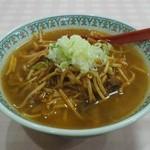 ふくりゅう軒 - 料理写真:『純鶏ラーメン(カラシニンニク入)』730円