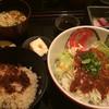 掌 - 料理写真:ピリ辛サラダそうめん定食