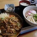 大洲かめや - 豚生姜焼き定食