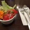 珈琲館赤と黒 - 料理写真:カレーセットのミニサラダ 黒胡椒が効いて美味し!