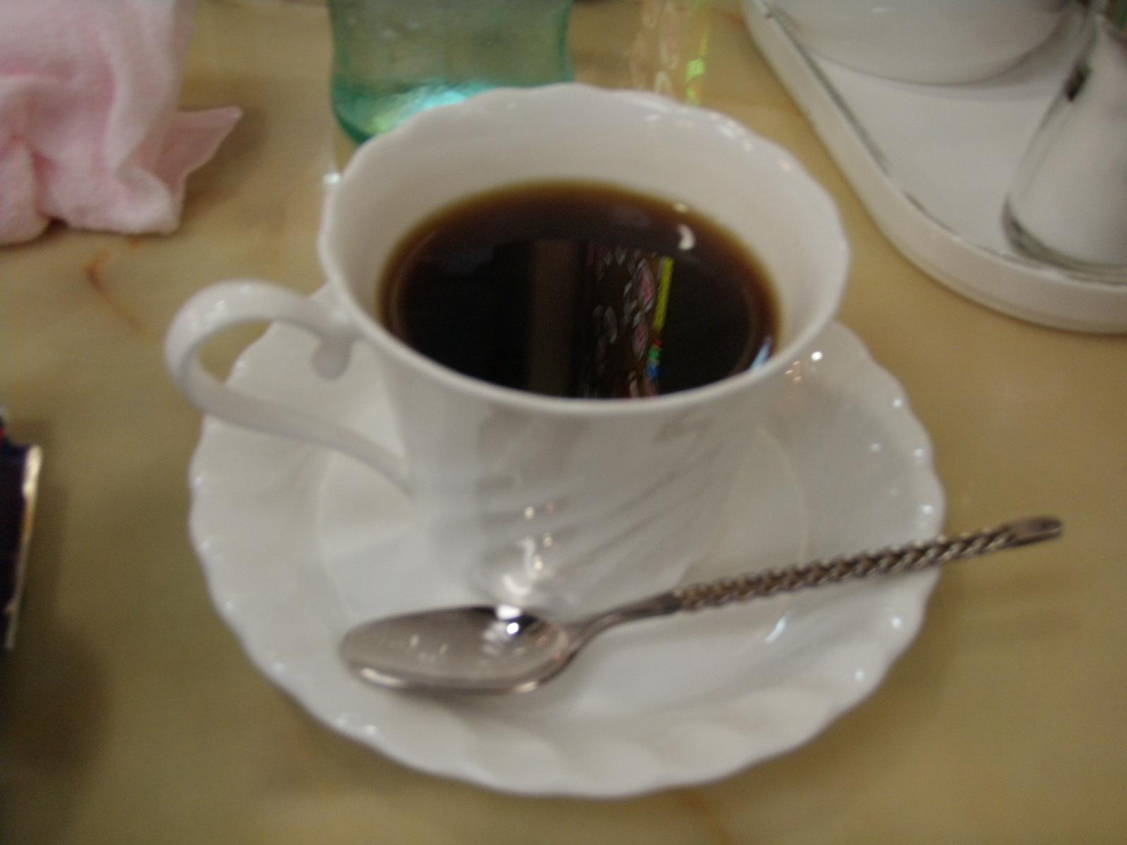 八雲・王様のコーヒー