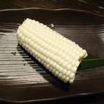 はなの舞 - 生トウモロコシ 茨城産ホワイトショコラ390円(税抜)