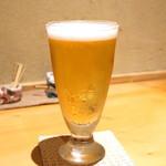 玉笑 - アサヒ熟撰生ビール (2015/07)