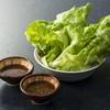 アスカ - 料理写真:新鮮野菜とオリジナルのタレ