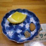 甘夏かあちゃん - 試食です。