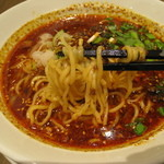 青菜 - 紅麻辣坦々麺