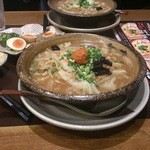 越後秘蔵麺 無尽蔵 - 料理写真:野菜辛味噌らーめん