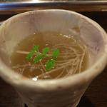 たんや卜傳 - スープ