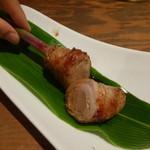 串酒屋 Katsu - 料理写真:やなか生姜と豚肉の炭火焼(420円)
