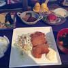 華 - 料理写真:白身魚フライの定食1500円