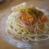 パスタール - 料理写真:カラスミとフレッシュトマトの冷製パスタ