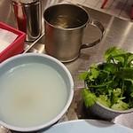 ガイトーンFukuoka - 鶏スープとパクチー