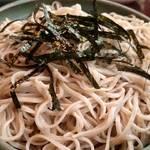 将門蕎麦 - かき揚げ丼セット