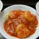 中華菜館 成都 - 料理写真:エビチリ