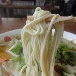 みかちゃんラーメン - みかちゃんラーメン 麺アップ