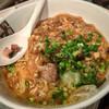 鶏だし工房 Garyu-ya - 料理写真:29日限定 肉だらけラーメン 680円 しょうゆラーメンに豚バラのフライに卵とじのあんかけ。