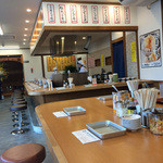 天ぷらのすずき - カウターの席
