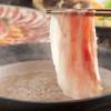 黒豚料理 寿庵 - 料理写真:鹿児島伝承の黒豚しゃぶしゃぶ