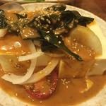ふぐ・ちゃんこ鳥義 - 豆腐サラダ