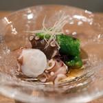 へっつい - 蛸と胡瓜の三杯酢