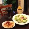 人間関係 cafe de copain - 料理写真:夜はワインとともに