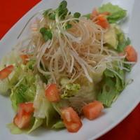 鶴亀 - 大根とカリカリじゃこの和風サラダ