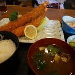 えび松 - 海老フライ定食(松)