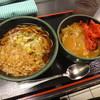 ゆで太郎 - 料理写真:カレー丼セット