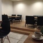 クアトロハーツカフェ - おしゃれでゆったりとした店内