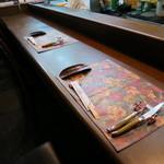 ステーキハウス キッチンリボン - カウンター席を予約