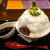 中村藤吉 - 料理写真:ふわふわの氷。白玉はもちもち。