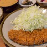 銀座 井泉 - ロースかつ定食【2015年7月】