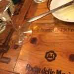 パーレンテッシ - 偶然の撮り損ね。面白いテーブル。