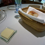 レストラン・マッカリーナ - 2015/7/27 パン&バター