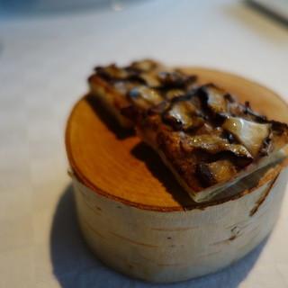 フラノ寶亭留 - 料理写真:椎茸とハムのパイ